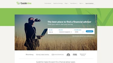 GuideVine home page